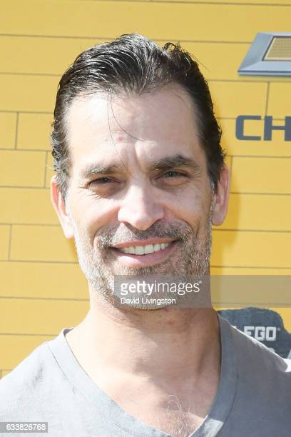 Actor Johnathon Schaech attends the Premiere of Warner Bros Pictures' 'The LEGO Batman Movie' at the Regency Village Theatre on February 4 2017 in...