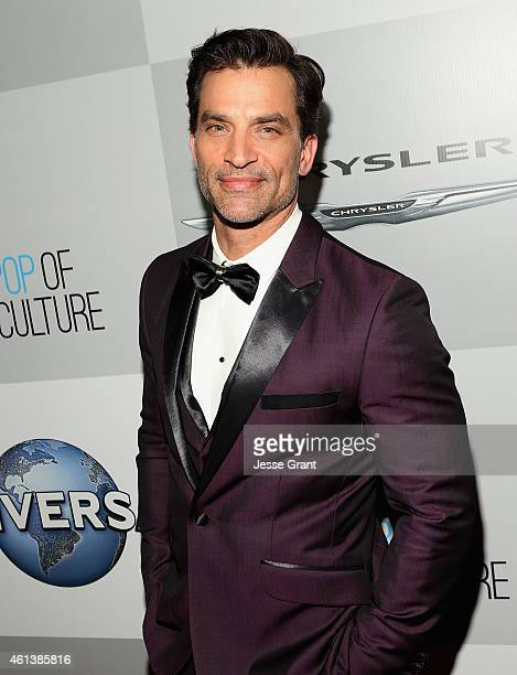 Actor Johnathon Schaech attends Universal NBC Focus Features and E Entertainment 2015 Golden Globe Awards After Party sponsored by Chrysler and...