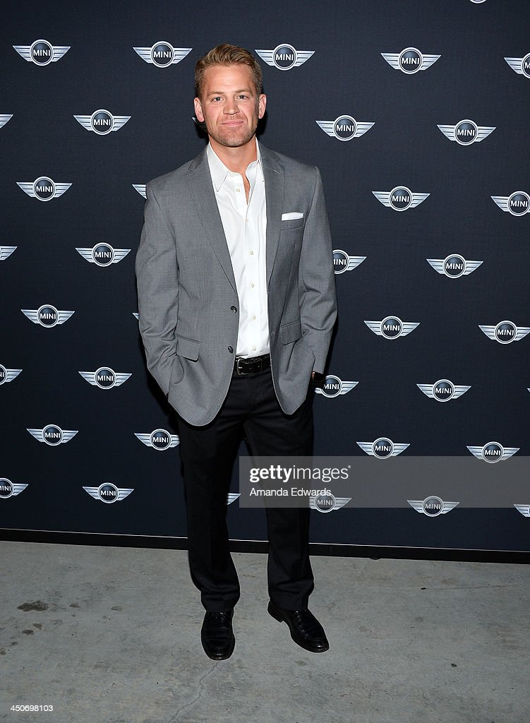 Actor Johnno Wilson arrives at the MINI Cooper red carpet premiere on November 19, 2013 in Los Angeles, California.