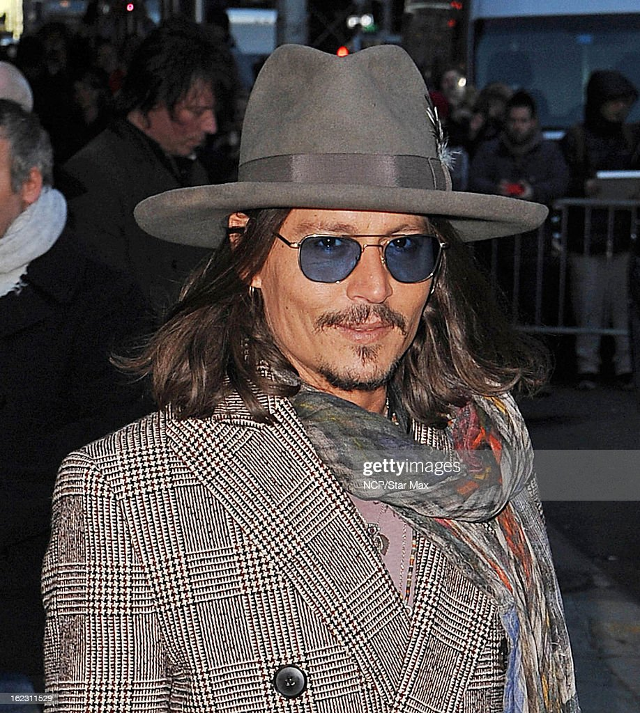 Actor <a gi-track='captionPersonalityLinkClicked' href=/galleries/search?phrase=Johnny+Depp&family=editorial&specificpeople=202150 ng-click='$event.stopPropagation()'>Johnny Depp</a> as seen on February 21, 2013 in New York City.
