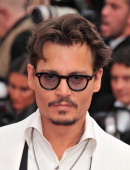 Actor Johnny Depp attends the 'Pirates of the Caribbean On Stranger Tides' Premiere during the 64th Annual Cannes Film Festival at Palais des...
