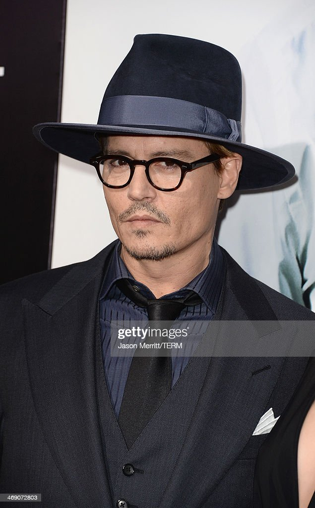 Actor <a gi-track='captionPersonalityLinkClicked' href=/galleries/search?phrase=Johnny+Depp&family=editorial&specificpeople=202150 ng-click='$event.stopPropagation()'>Johnny Depp</a> attends the premiere of Relativity Media's '3 Days To Kill' at ArcLight Cinemas on February 12, 2014 in Hollywood, California.