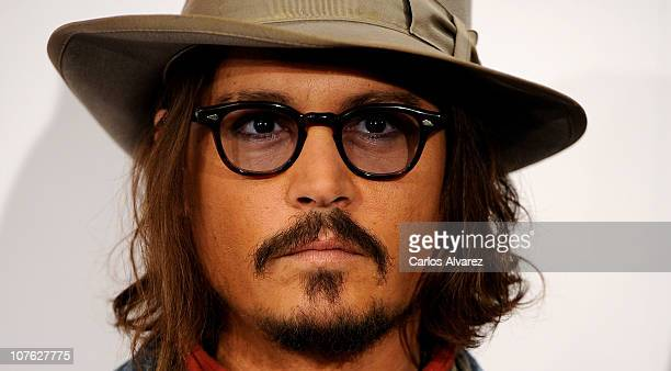Actor Johnny Depp attends 'The Tourist' photocall at Villamagna Hotel on December 16 2010 in Madrid Spain