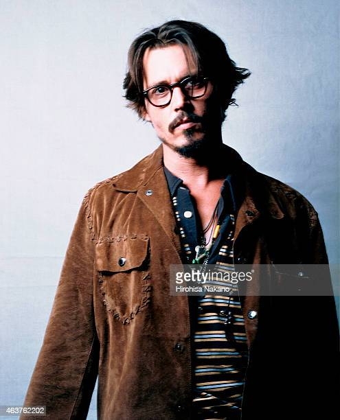 Actor Johnny Depp is photographed on September 5 2005 in Tokyo Japan