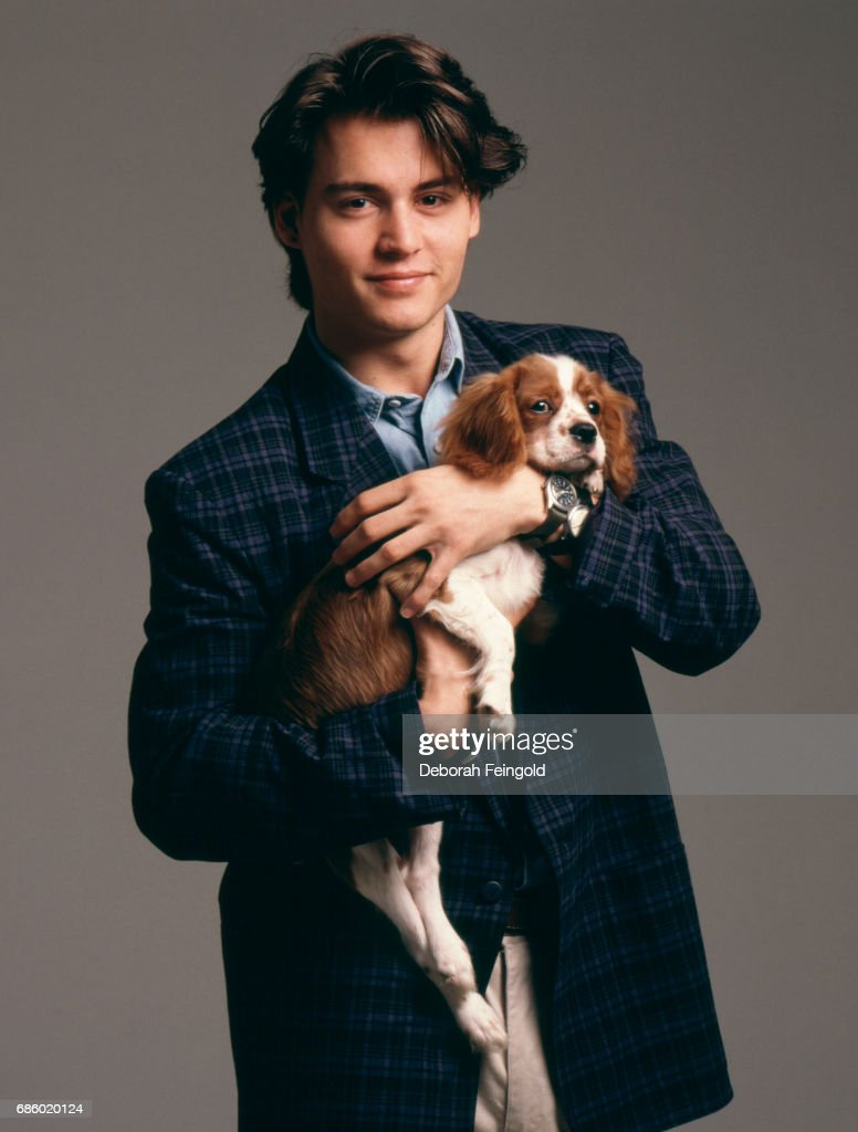 Actor Johnny Depp poses for a portrait in 1988 in New York City, New York.