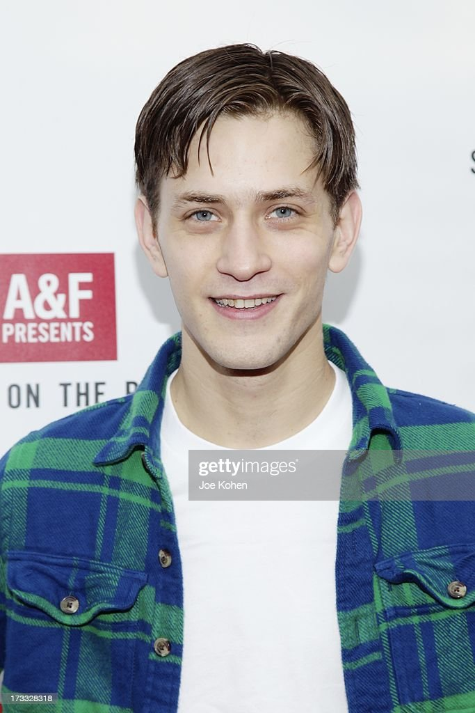 Actor Johnny Ferro attends Abercrombie & Fitch Co. presents their 2013 'Stars On The Rise!' at The Grove on July 11, 2013 in Los Angeles, California.