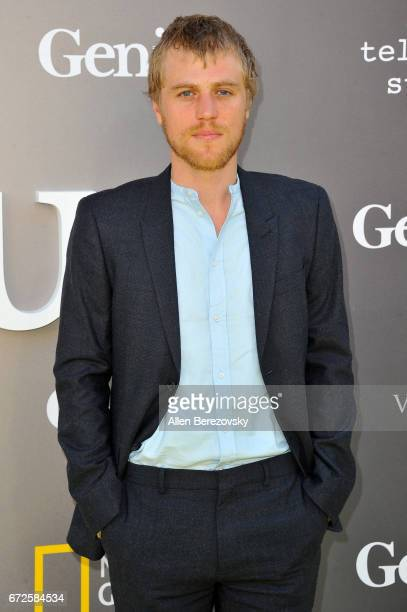 Actor Johnny Flynn attends a premiere of National Geographic's 'Genius' at Fox Bruin Theater on April 24 2017 in Los Angeles California