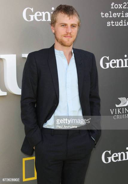 Actor Johnny Flynn attends the premiere of National Geographic's 'Genius' at The Fox Bruin Theater on April 24 2017 in Los Angeles California