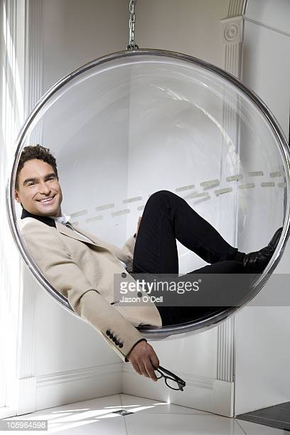 Actor Johnny Galaecki of The Big Bang Theory poses at a portrait session for TV Guide on August 25 Los Angeles California
