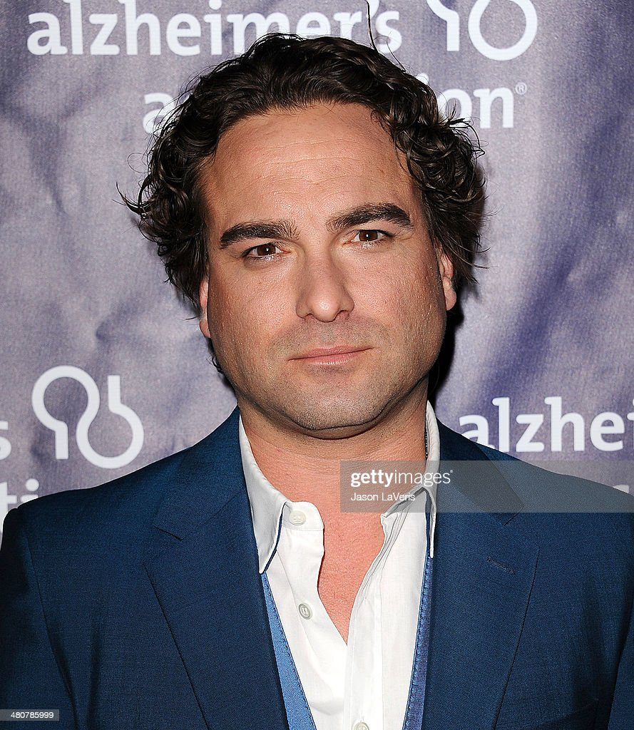 Actor Johnny Galecki attends the 22nd 'A Night At Sardi's' at The Beverly Hilton Hotel on March 26, 2014 in Beverly Hills, California.
