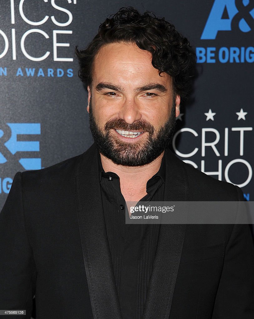 Actor Johnny Galecki attends the 5th annual Critics' Choice Television Awards at The Beverly Hilton Hotel on May 31, 2015 in Beverly Hills, California.