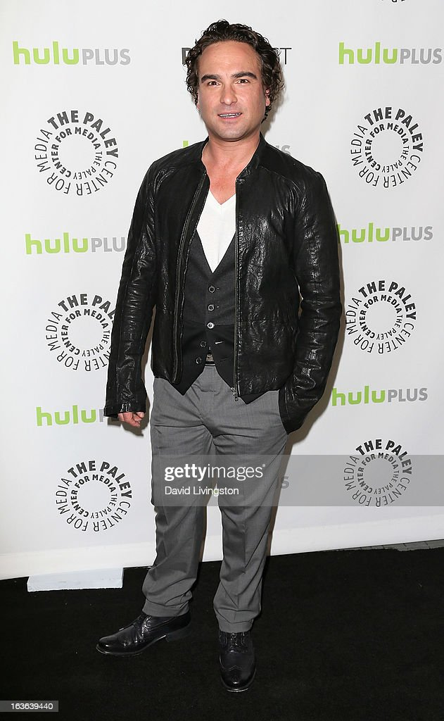 Actor Johnny Galecki attends The Paley Center For Media's PaleyFest 2013 honoring 'The Big Bang Theory' at the Saban Theatre on March 13, 2013 in Beverly Hills, California.
