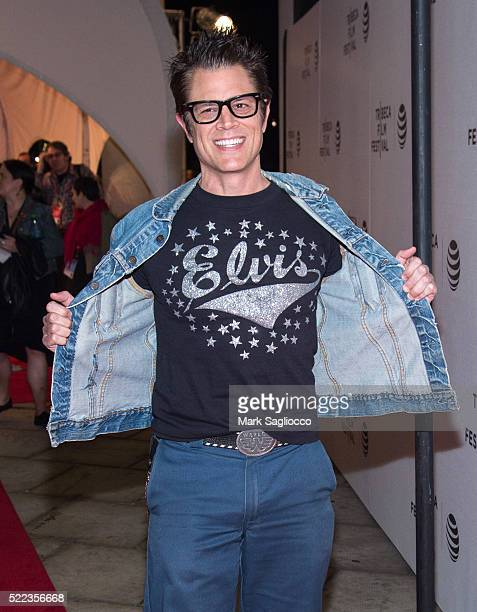 Actor Johnny Knoxville attends the 'Elvis Nixon' Premiere during the 2016 Tribeca Film Festival at the John Zuccotti Theater at BMCC Tribeca...