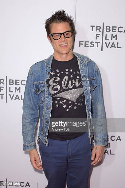 Actor Johnny Knoxville attends the 'Elvis Nixon' premiere during the 2016 Tribeca Film Festival at John Zuccotti Theater at BMCC Tribeca Performing...