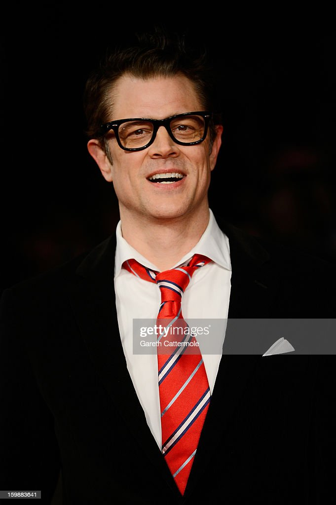 Actor Johnny Knoxville attends the European Premiere of 'The Last Stand' at Odeon West End on January 22, 2013 in London, England.