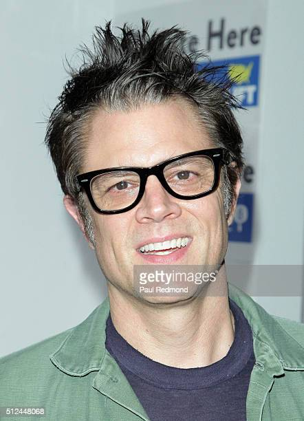 Actor Johnny Knoxville attends the LIFTArt 2016 2nd Annual Art Auction at Quixote Studios on February 25 2016 in Los Angeles California