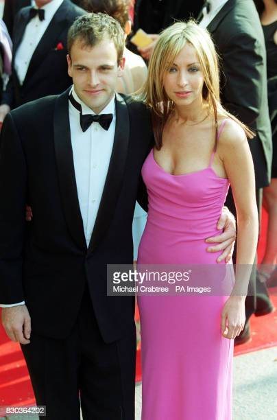 Actor Johnny Lee Miller and All Saints member Natalie Appleton at the Orange British Film Awards at the Odeon Leicester Square London