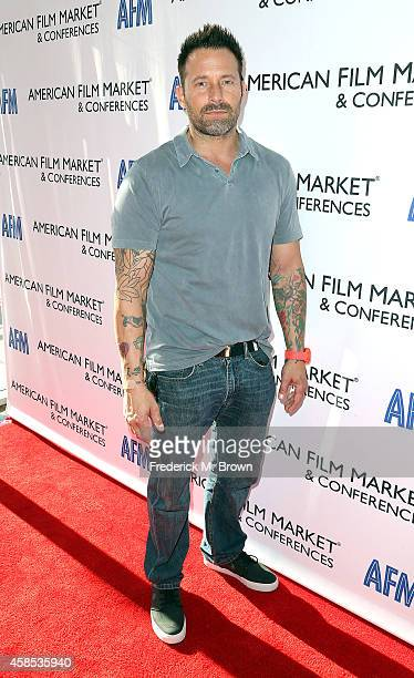 Actor Johnny Messner attends The 2014 American Film Market at the Loews Santa Monica Beach Hotel on November 6 2014 in Santa Monica California
