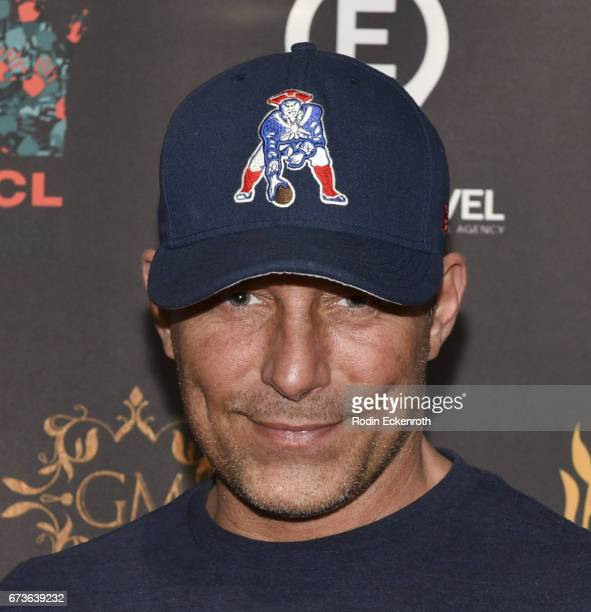 Actor Johnny Messner attends 'The Girl Who Invented Kissing' showing at the 17th annual Beverly Hills Film Festival Opening Night at TCL Chinese 6...