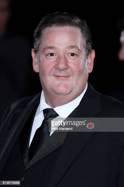 Actor Johnny Vegas attends the Pride Of Britain Awards at The Grosvenor House Hotel on October 31 2016 in London England