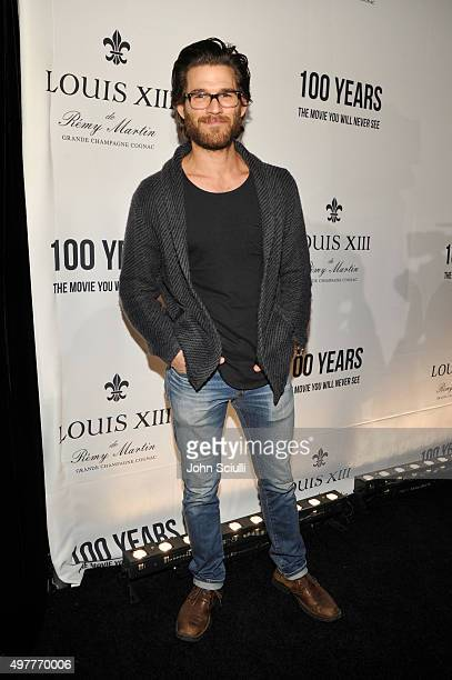 Actor Johnny Whitworth attends Louis XIII Celebration of '100 Years' The Movie You Will Never See starring John Malkovich at a private residence on...