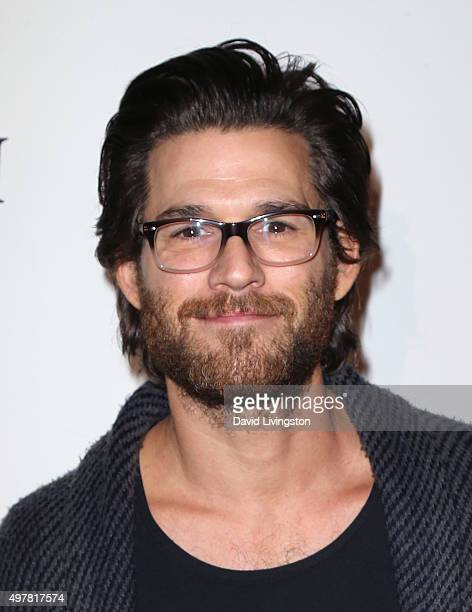 Actor Johnny Whitworth attends LOUIS XIII toasts to '100 Years The Movie You Will Never See' at the Sheats Goldstein residence on November 18 2015 in...