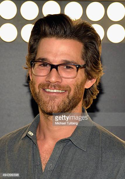 Actor Johnny Whitworth attends the premiere of National Geographic Channel and GE's 'Breakthrough' at Pacific Design Center on October 26 2015 in...
