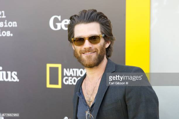 Actor Johnny Whitworth attends the Premiere Of National Geographic's 'Genius' at Fox Bruin Theater on April 24 2017 in Los Angeles California