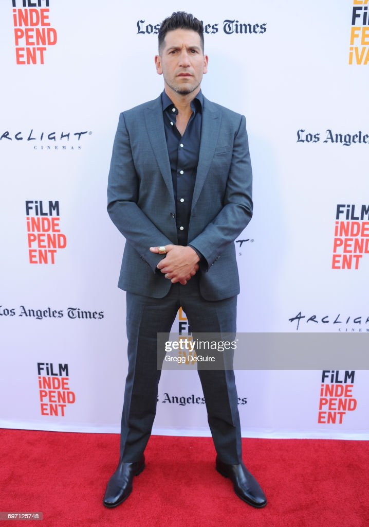 Actor Jon Bernthal arrives at the 2017 Los Angeles Film Festival - Gala Screening Of 'Shot Caller' at Arclight Cinemas Culver City on June 17, 2017 in Culver City, California.