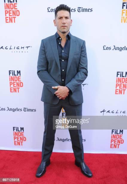 Actor Jon Bernthal arrives at the 2017 Los Angeles Film Festival Gala Screening Of 'Shot Caller' at Arclight Cinemas Culver City on June 17 2017 in...