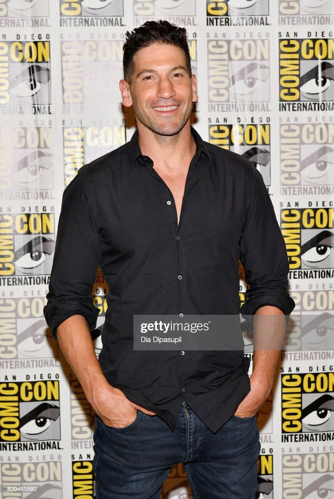 Actor Jon Bernthal at Marvel's 'The Defenders' Press Line during Comic-Con International 2017 at Hilton Bayfront on July 21, 2017 in San Diego, California.