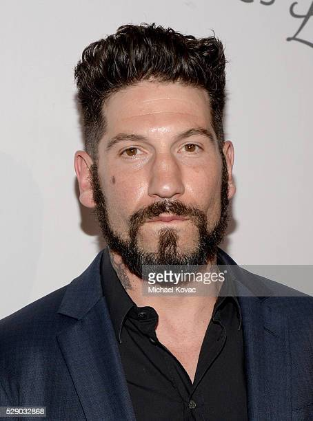 Actor Jon Bernthal attends The Humane Society of the United States' to the Rescue Gala at Paramount Studios on May 7 2016 in Hollywood California