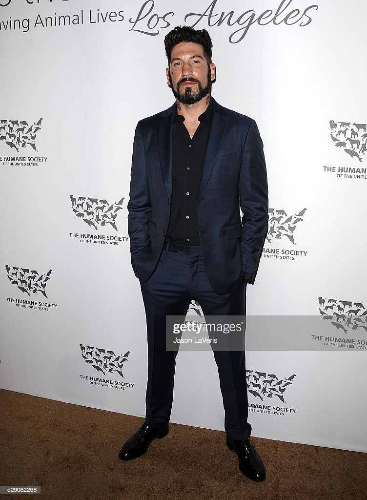 Actor Jon Bernthal attends The Humane Society of The United States' To The Rescue gala at Paramount Studios on May 07, 2016 in Hollywood, California.