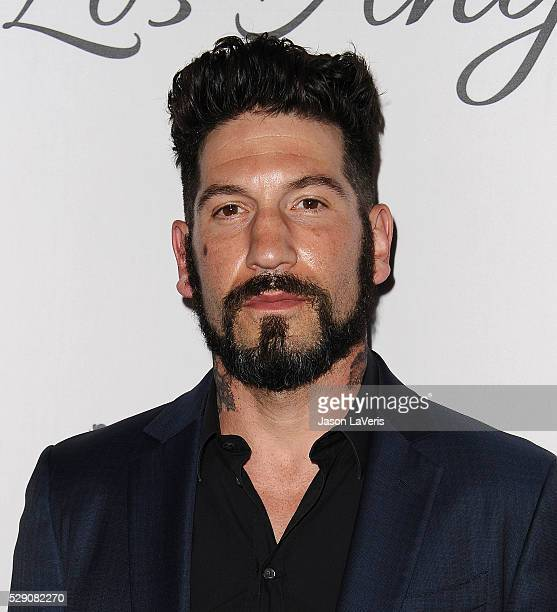Actor Jon Bernthal attends The Humane Society of The United States' To The Rescue gala at Paramount Studios on May 07 2016 in Hollywood California