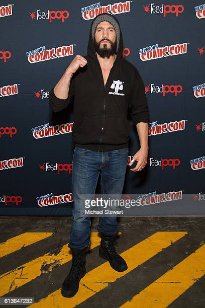 Actor Jon Bernthal attends the Jon Bernthal Spotlight panel during 2016 New York Comic Con at the Jacob Javitz Center on October 9 2016 in New York...