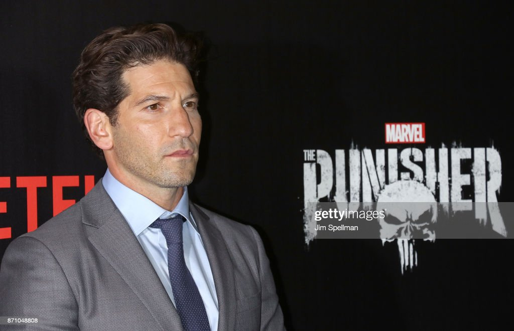 Actor Jon Bernthal attends the 'Marvel's The Punisher' New York premiere at AMC Loews 34th Street 14 theater on November 6, 2017 in New York City.