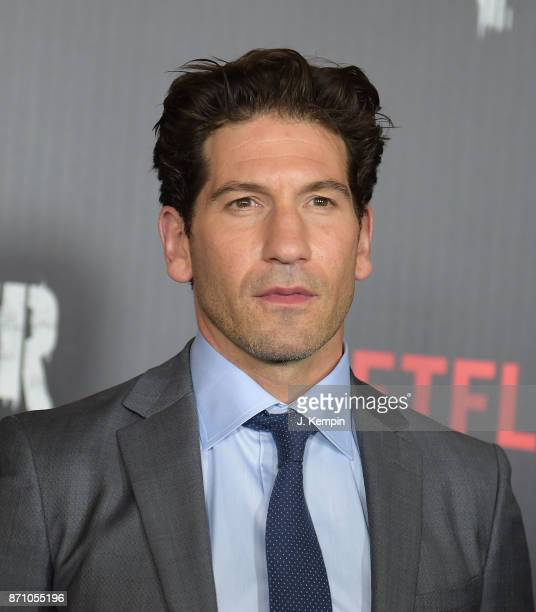 Actor Jon Bernthal attends the 'Marvel's The Punisher' New York Premiere on November 6 2017 in New York City