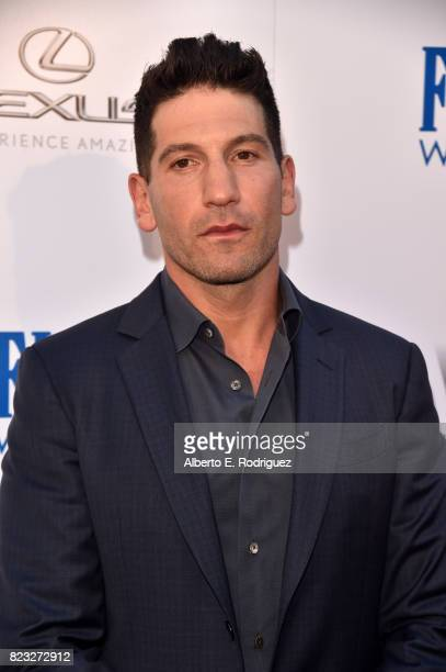 Actor Jon Bernthal attends the premiere of The Weinstein Company's 'Wind River' at The Theatre at Ace Hotel on July 26 2017 in Los Angeles California