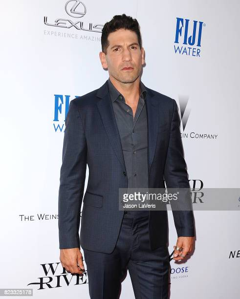 Actor Jon Bernthal attends the premiere of 'Wind River' at The Theatre at Ace Hotel on July 26 2017 in Los Angeles California