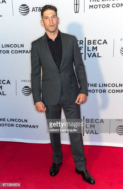 Actor Jon Bernthal attends the 'Sweet Virginia' Premiere during 2017 Tribeca Film Festival at Cinepolis Chelsea on April 21 2017 in New York City