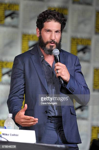 Actor Jon Bernthal during ComicCon International 2016 at San Diego Convention Center on July 21 2016 in San Diego California