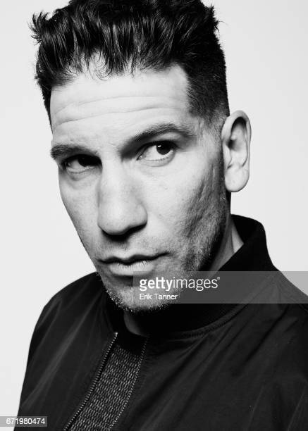 Actor Jon Bernthal from 'Pilgrimage' poses at the 2017 Tribeca Film Festival portrait studio on April 23 2017 in New York City