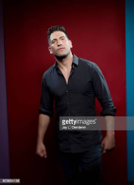 Actor Jon Bernthal from the television series 'Marvel's The Punisher' is photographed in the LA Times photo studio at ComicCon 2017 in San Diego CA...