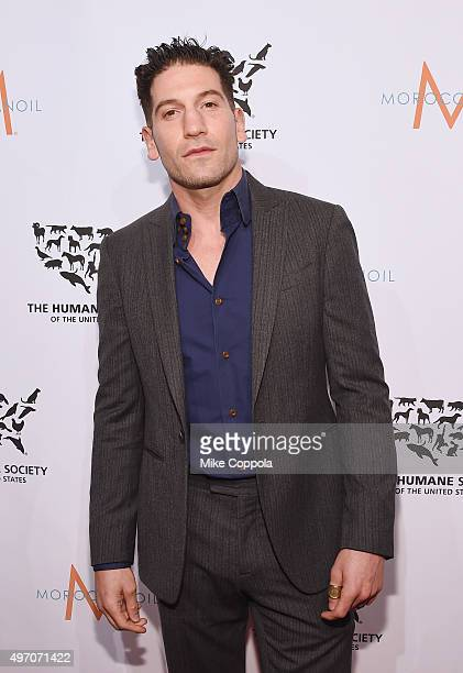 Actor Jon Bernthal poses for a picture during the 2015 To The Rescue New York Gala at Cipriani 42nd Street on November 13 2015 in New York City