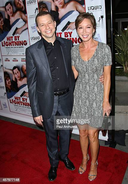 Actor Jon Cryer and his Wife Lisa Joyner attend the premiere of 'Hit By Lightning' at the ArcLight Hollywood on October 27 2014 in Hollywood...