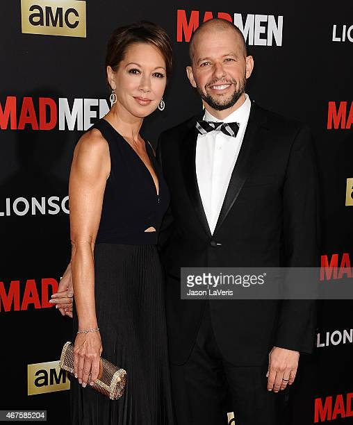 Actor Jon Cryer and wife Lisa Joyner attend the 'Mad Men' Black Red Ball at Dorothy Chandler Pavilion on March 25 2015 in Los Angeles California