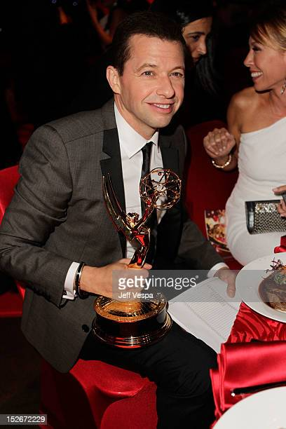 Actor Jon Cryer attends the 64th Primetime Emmy Awards Governors Ball at Los Angeles Convention Center on September 23 2012 in Los Angeles California