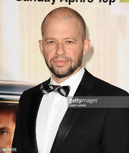 Actor Jon Cryer attends the 'Mad Men' Black Red Ball at Dorothy Chandler Pavilion on March 25 2015 in Los Angeles California