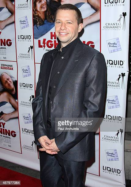 Actor Jon Cryer attends the premiere of 'Hit By Lightning' at the ArcLight Hollywood on October 27 2014 in Hollywood California