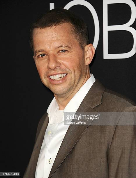 Actor Jon Cryer attends the premiere of 'Jobs' at Regal Cinemas LA Live on August 13 2013 in Los Angeles California